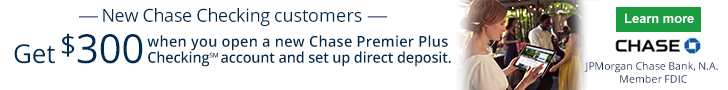 Chase Premier Plus Checking Bonus