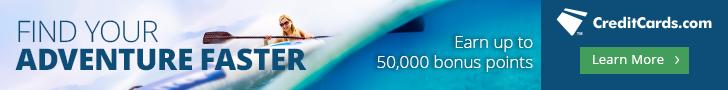 Best Credit Cards 50,000 bonus points