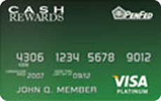 PenFed Visa® Platinum Cash Rewards Card