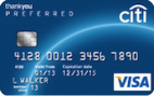 Citi ThankYou® Preferred Rewards Card