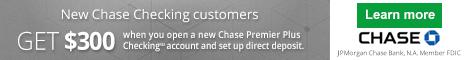 Chase Total Checking® + Chase Savings?