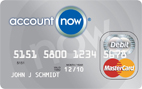AccountNow<sup>®</sup> Prepaid MasterCard<sup>®</sup>