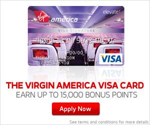 Virgin America Visa® Signature Card