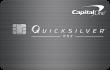 Capital One® QuicksilverOne® Cash Rewards Credit Card