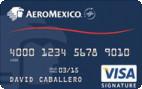AeroMexico Visa Signature<sup>&#174;</sup> Card