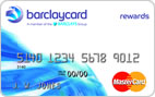 Barclaycard® Rewards MasterCard® - Average Credit