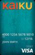 Kaiku® Visa® Prepaid Card
