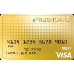 24k Prepaid Visa<sup>&#174;</sup> RushCard