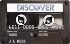 Discover® Mix Tape Student Card