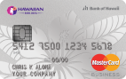 The Hawaiian Airlines® Business MasterCard®