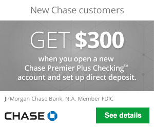 Chase Premier Plus Checking?