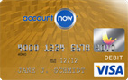 Account Now Gold Visa<sup>®</sup> Prepaid Card