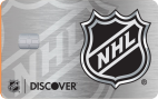 NHL® Discover it® card - Double Cash Back your first year