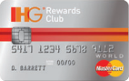 IHG Rewards Club Select world mastercard
