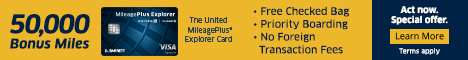 United MileagePlus® Explorer - Banner