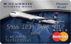 The US Airways® Premier World MasterCard®