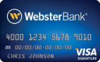 Webster Bank Visa Signature Credit Card