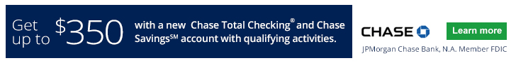 Chase Total Checking® and Chase Savings?