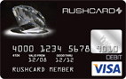 Prepaid Visa® Black Diamond RushCard