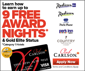 Club Carlson<sup>SM</sup> Premier Rewards Visa Signature&#174; Card