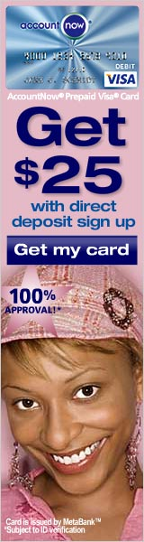 Account Now Prepaid Card