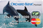 Orchard Bank Classic MasterCards - Dolphin