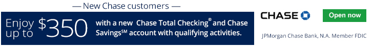 Chase Total Checking® + Chase Savings℠