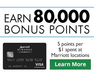 Marriott Rewards® Premier Credit Card - Banner