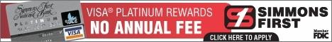 Simmons Bank Visa® Platinum Rewards