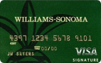 Williams Sonoma Visa Signature Credit Card