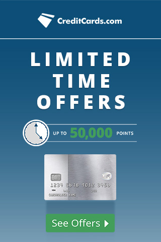 Limited Time Credit Card Offers