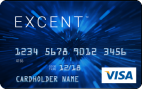 Excent™ Secured Visa Blue Card