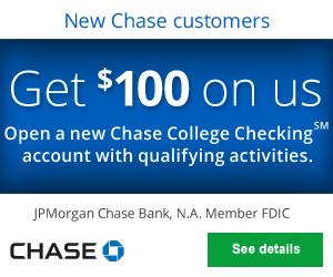 Chase college online checking account