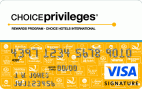 The Choice Privileges® Visa® Card