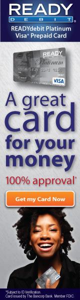 READYdebit Platinum Visa Prepaid Card