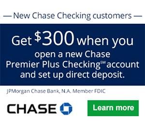Chase Premier Plus Checking?