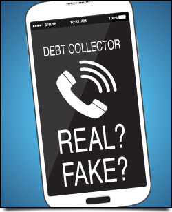 real-fake-debt-collector