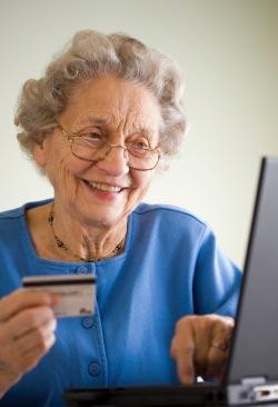 Establishing credit after a spouse dies
