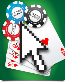 Internet gambling credit card on line slot machine gambling
