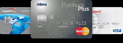 AMEX, Mastercard, VISA