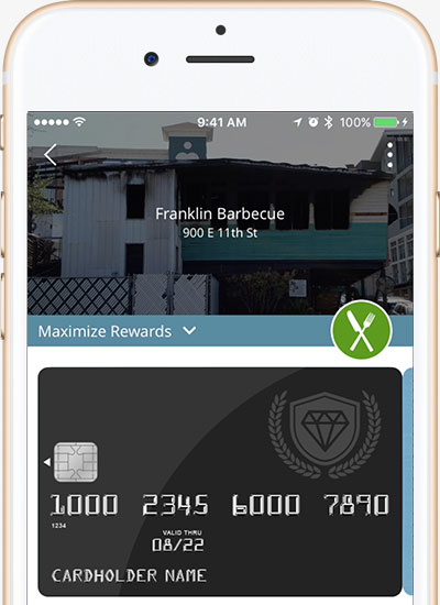 Maximize your credit card rewards with the Wallet app from CreditCards.com.