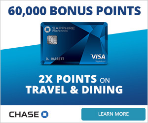 Chase Sapphire Preferred® Card - Banner