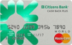 Citizens Bank Cash Back Plus™ World MasterCard®