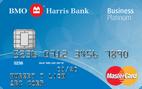 BMO Harris Bank Business Platinum MasterCard® Credit Card