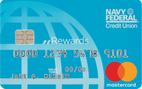 Navy FCU nRewards® Secured Card