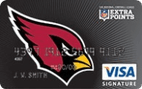 Arizona Cardinals Extra Points Credit Card