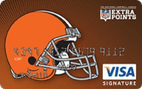 Cleveland Browns Extra Points Credit Card