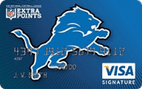 Detroit Lions Extra Points Credit Card