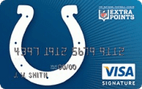 Indianapolis Colts Extra Points Credit Card