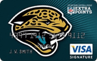 Jacksonville Jaguars Extra Points Credit Card